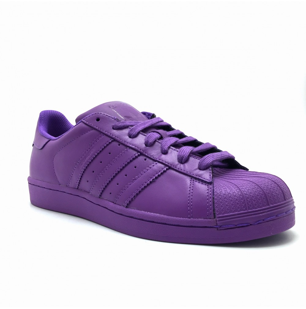 Baskets Adidas superstar supercolor Violet