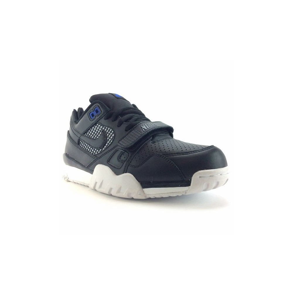 purchase cheap 86ee7 7ba09 basket nike air trainer 2 homme noir blanc 371739 002