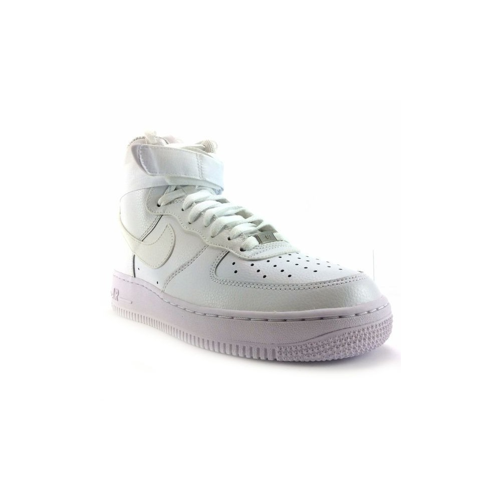 Baskets Blanc Nike AIR FORCE 1 Blanc Baskets Homme eac446