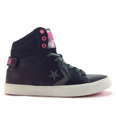 chaussure femme converse rose