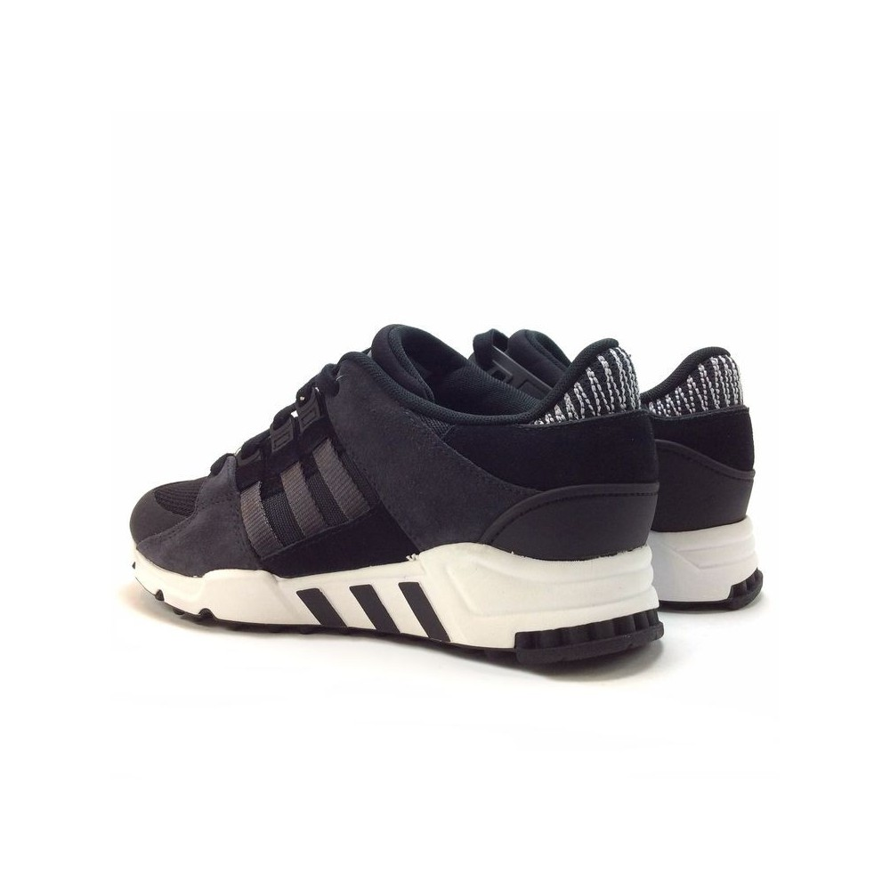competitive price 796a4 aefd2 Baskets de sport basses Adidas EQT Support RF BY9623 en toile noires   grises