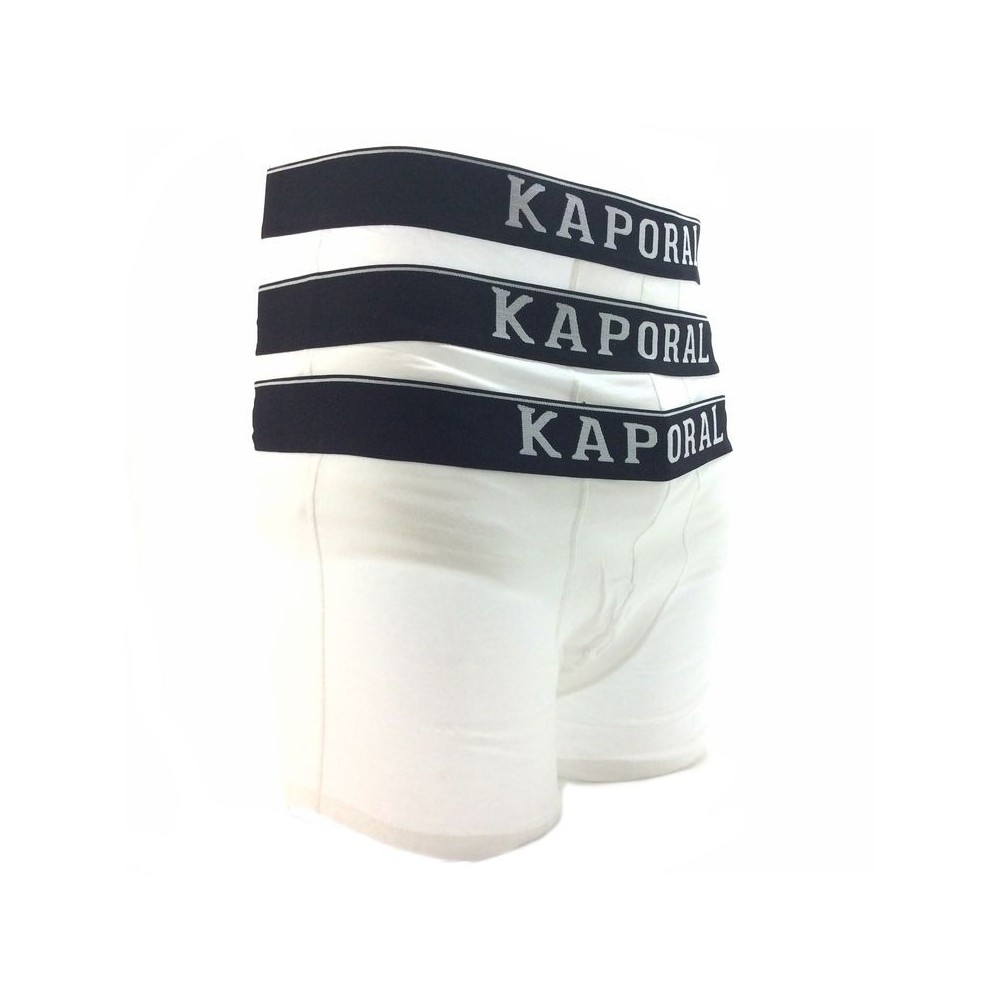 Article: quad pack x3 Reference: Quadblanc Manufacture: Kaporal Product category: Boxer homme