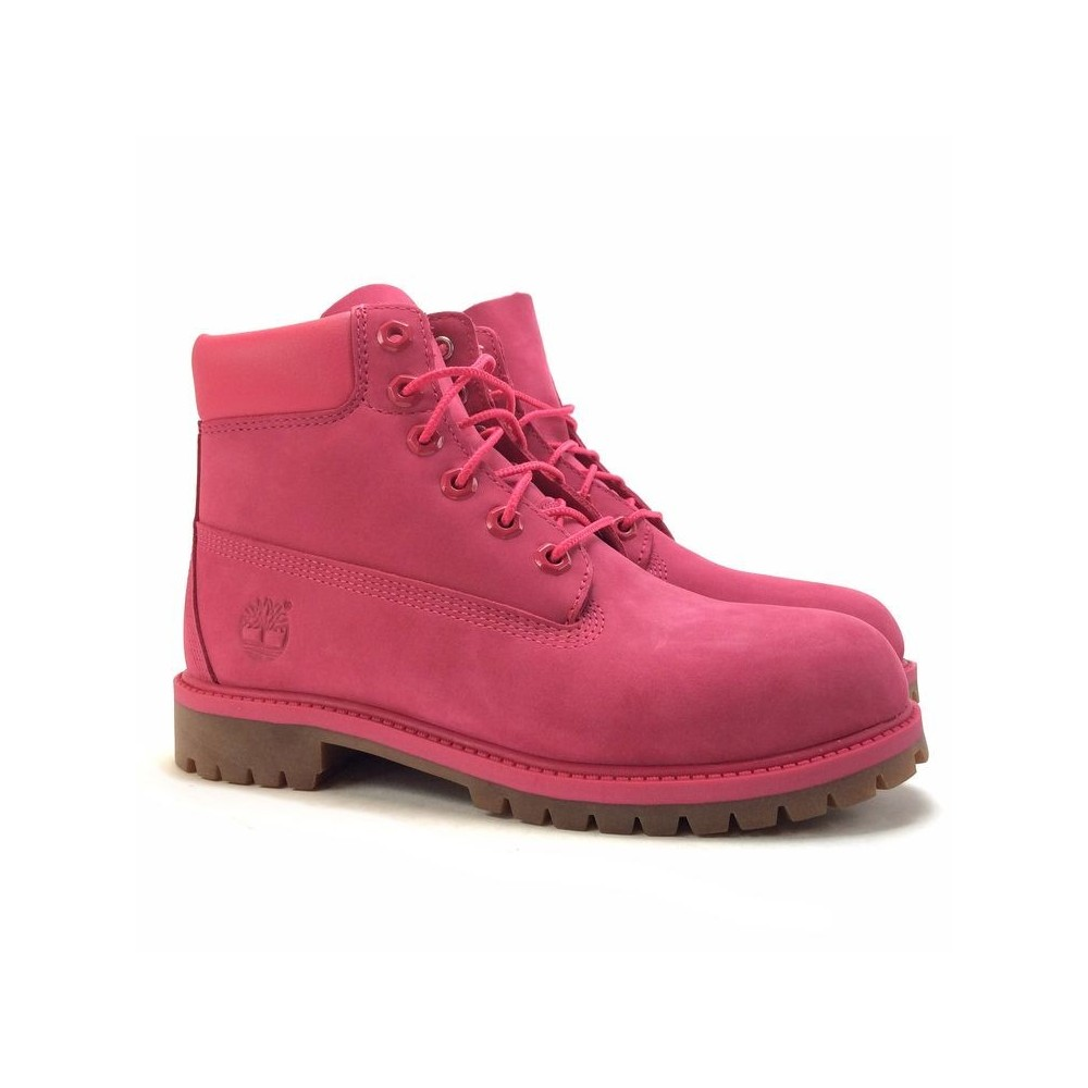 bottine timberland rose