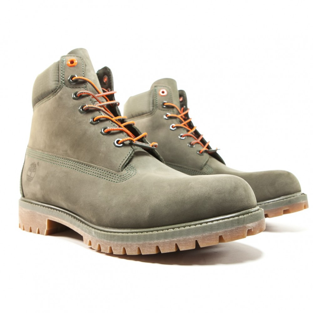 bottine timberland kaki