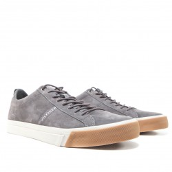 Low-Rise Leather Trainers