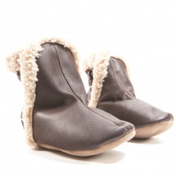 BOOTIES 4 BROWN