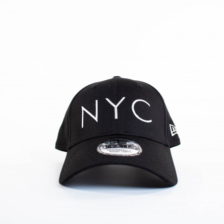 Casquette homme New Era Noir nyc 9 forty