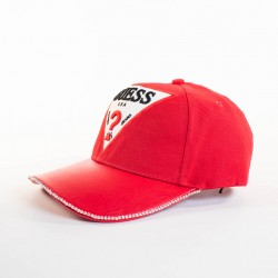 Casquette Guess rouge