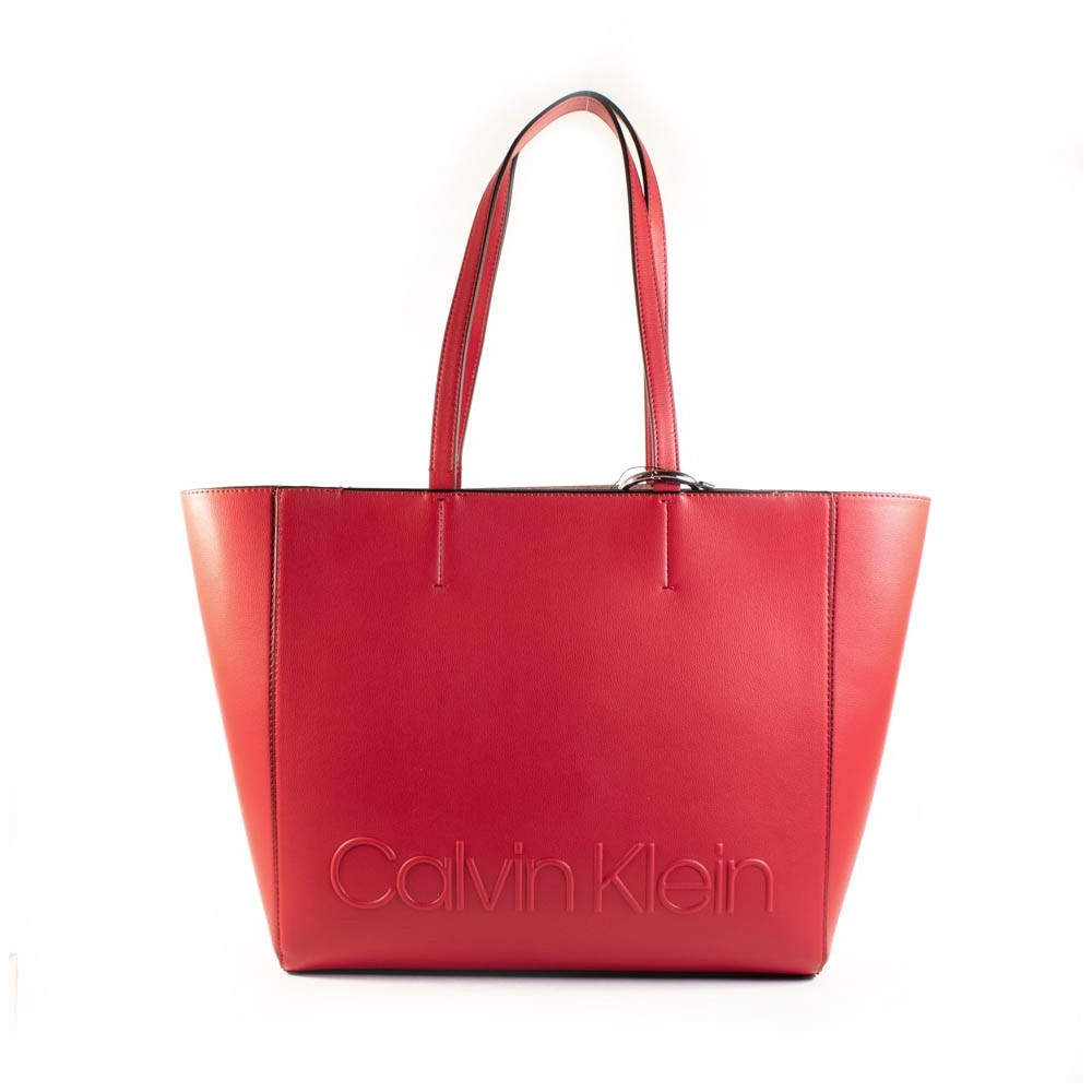 Denim edged shopper - Calvin Klein - Modalova
