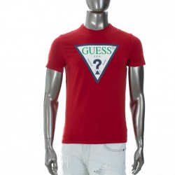 T shirt Guess rouge