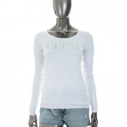 Pull Guess blanc