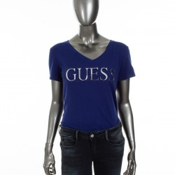 T shirt Guess bleu