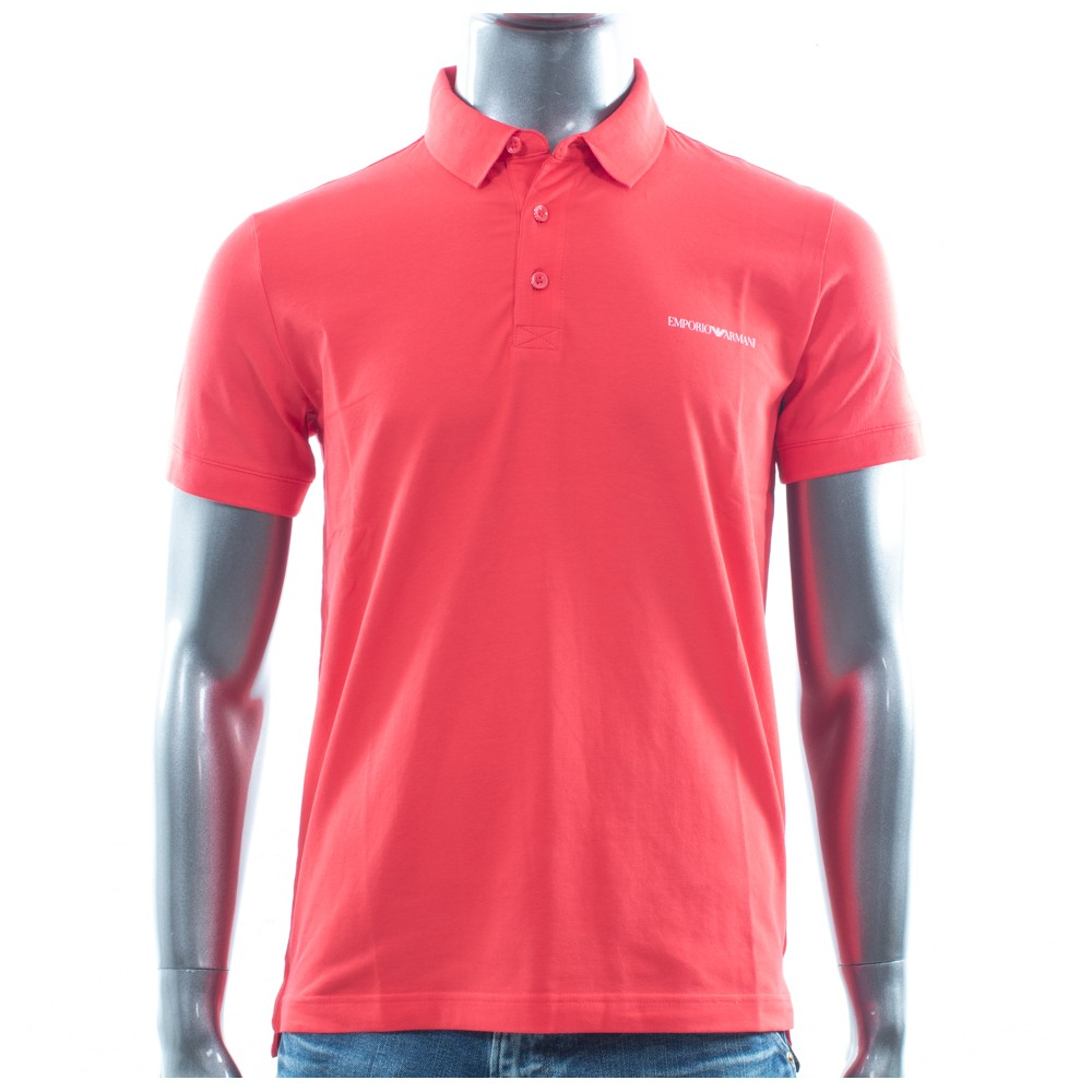 Polo manche courte Armani Jeans  Rouge  classic