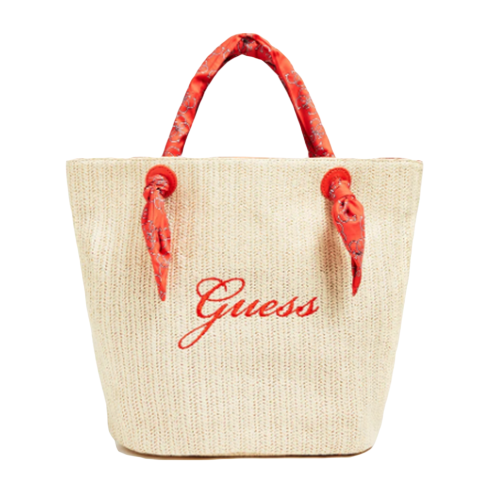Sac a main femme Guess  Rouge  plage