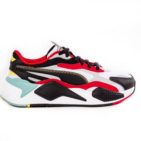 Chaussure running homme Puma Noir Rs-x3 puzzle
