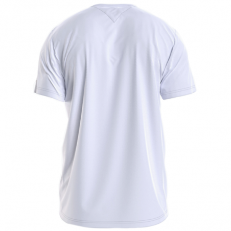 T shirt manche courte homme Tommy Jeans Blanc Corp logo tee